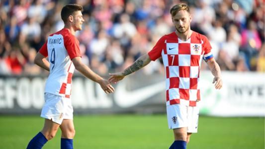 Anderej Kramaric Ivan Rakitic Croatia 09102018