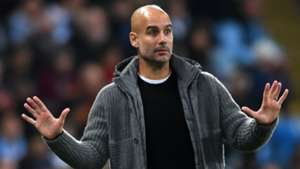 Pep Guardiola Man City 2018