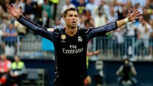 Cristiano Ronaldo Málaga Real Madrid 210517