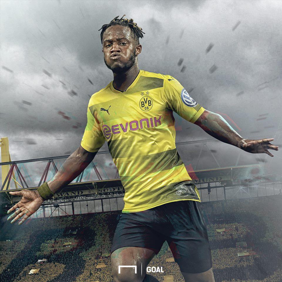 GFX Michy Batshuayi Borussia Dortmund