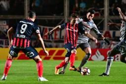 San Lorenzo Emelec Copa Libertadores 10082017 Bautista Merlini Nicolas Blandi