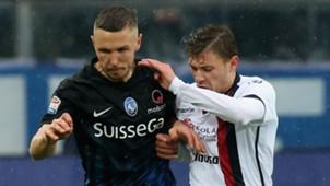 Jasmine Kurtic, Fabio Pisacane, Atalanta, Cagliari, Serie A, 02052017