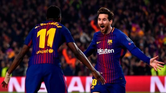 Image result for barcelona vs AS Roma