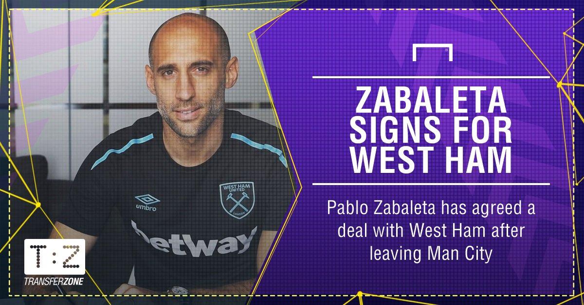 Pablo Zabaleta West Ham GFX