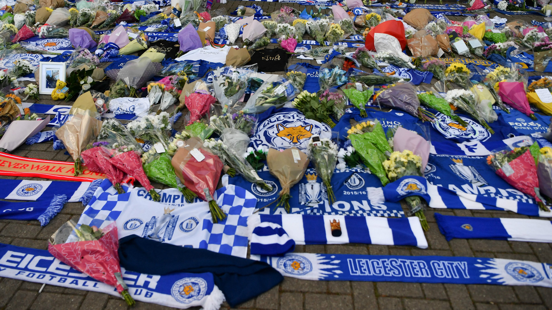 Leicester City tributes