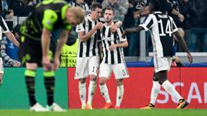 Mario Mandzukic Juventus Sporting Champions League