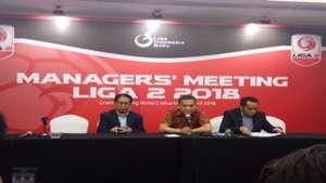 Manager Meeting Liga 2