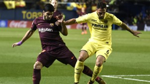 Luis Suarez Victor Ruiz Villarreal Barcelona LaLiga