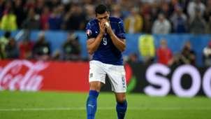 Graziano Pelle Euro 2016 Germany v Italy