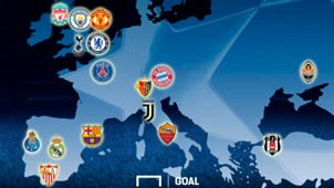 Champions League last 16 draw GFX