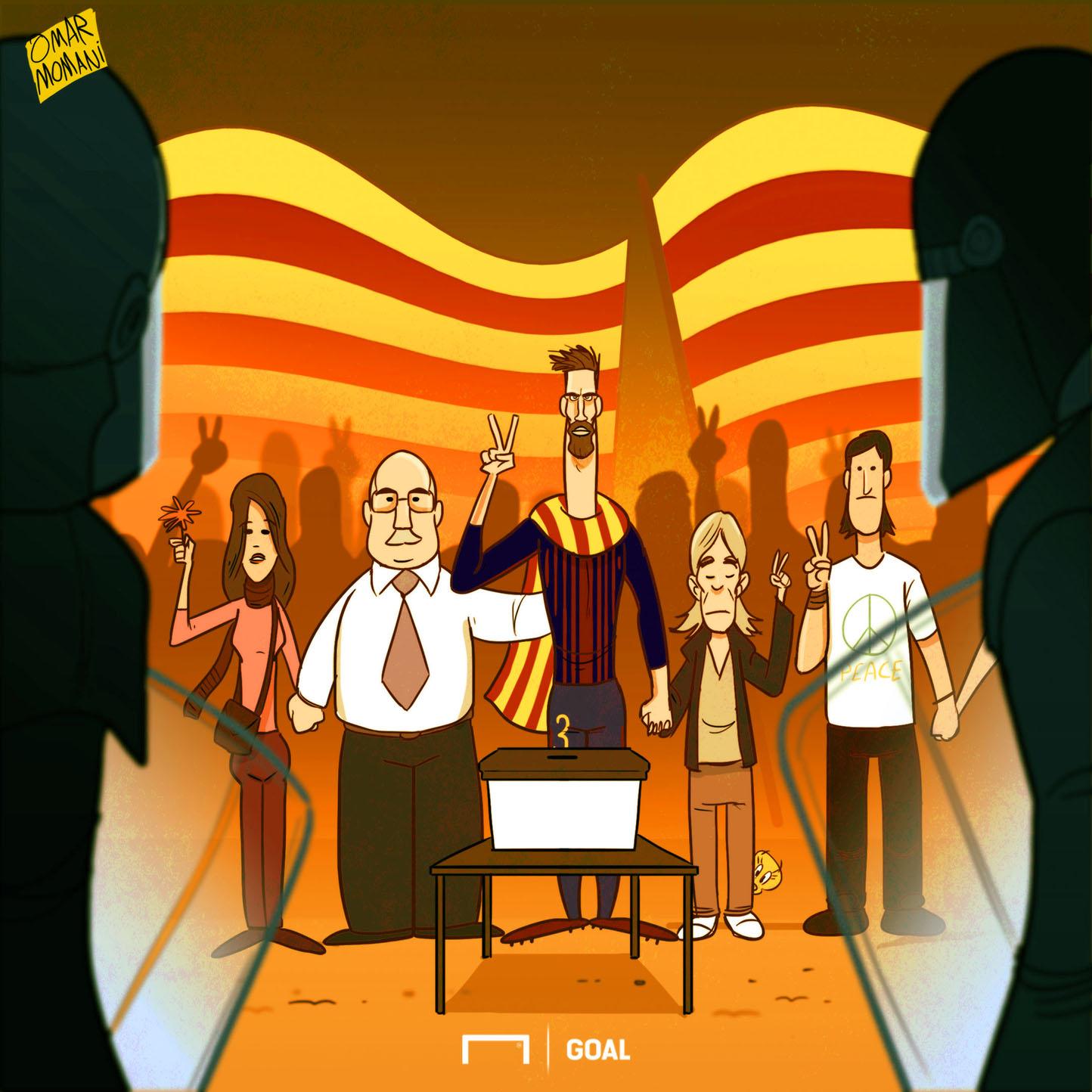 Gerard Pique Catalan Referendum