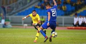 Faisal Halim, Malaysia U23 v Philippines U23, AFC U23 Championship qualifier, 22 Mar 2019