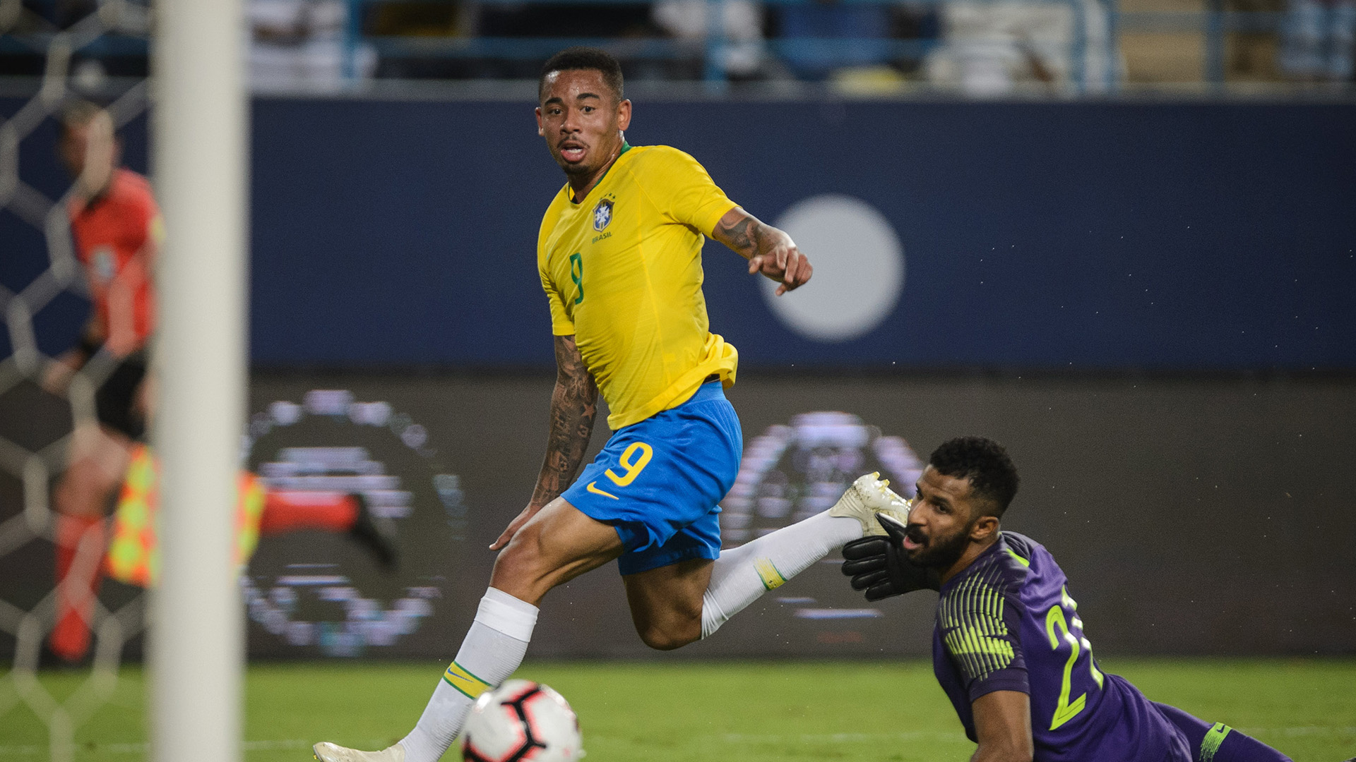 Gabriel Jesus Al Owais Saudi Arabia Brazil Friendly 12102018