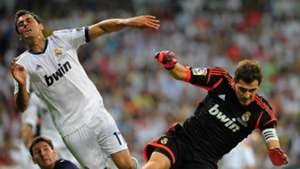 Álvaro Arbeloa e Iker Casillas