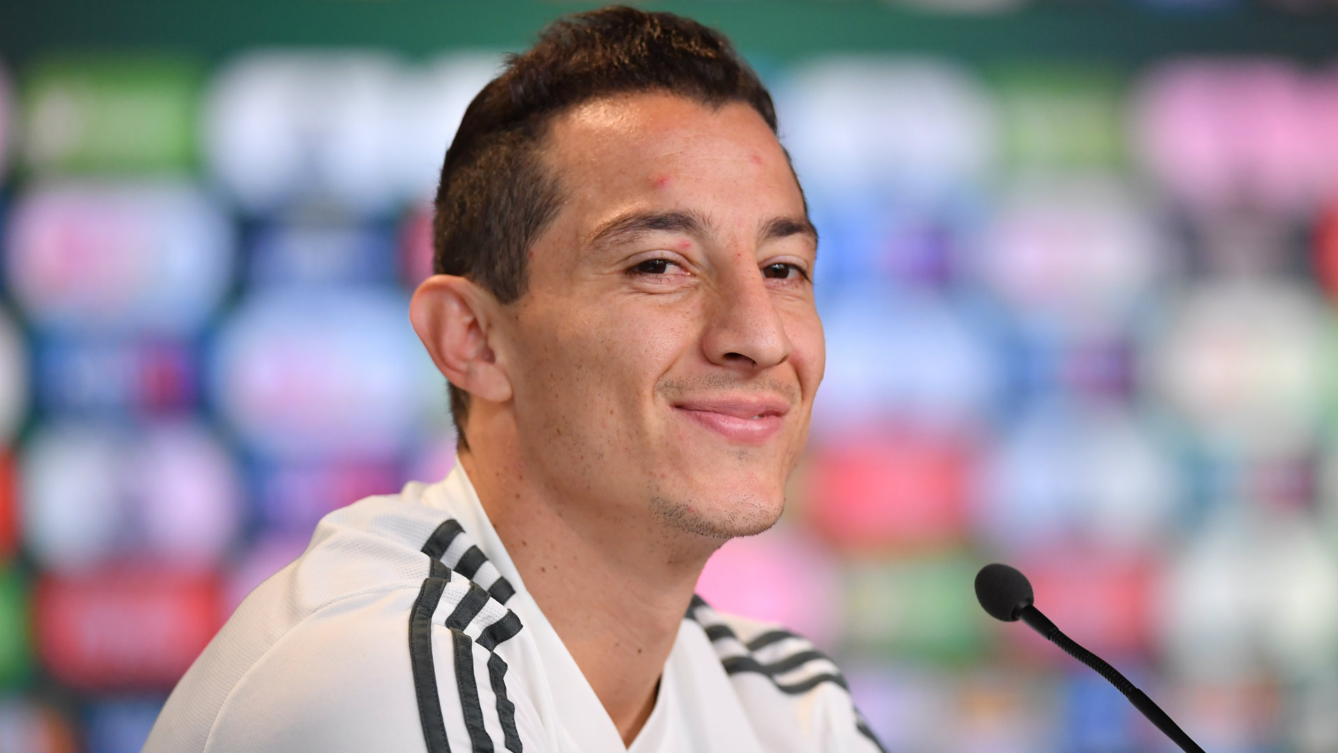 Andres Guardado Mexico press conference World Cup 2018
