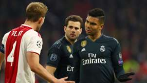 Casemiro De Ligt Real Madrid Ajax