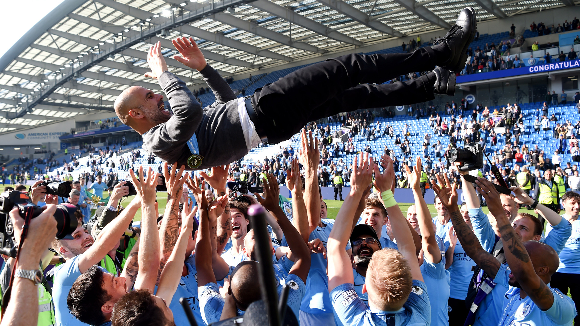 Pep Guardiola Manchester City 0519
