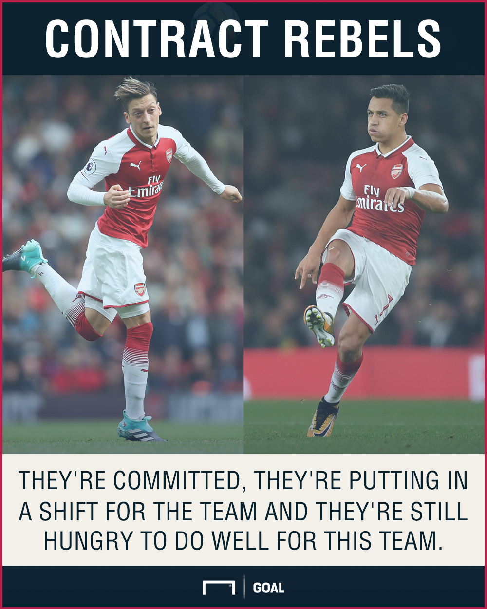 Aaron Ramsey Mesut Ozil Alexis Sanchez Arsenal contracts