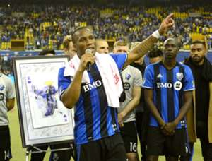 Didier Drogba says goodbye in Montreal
