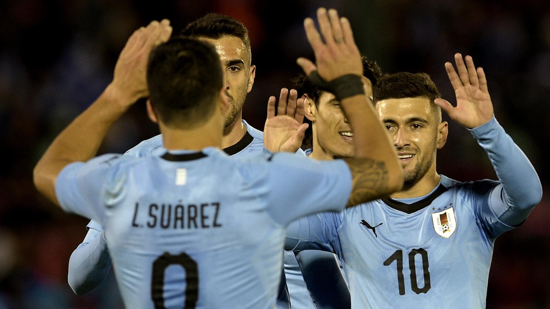 Uruguay Team Jubel 09062018
