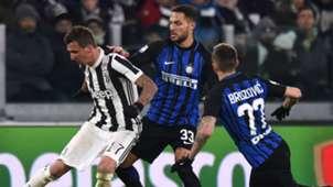 Mandzukic Brozovic Juventus Inter 14 07 2018