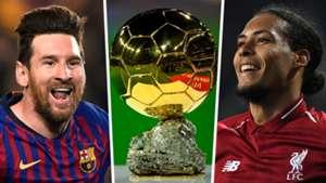 Messi vs Van Dijk: The battle for the Ballon d'Or