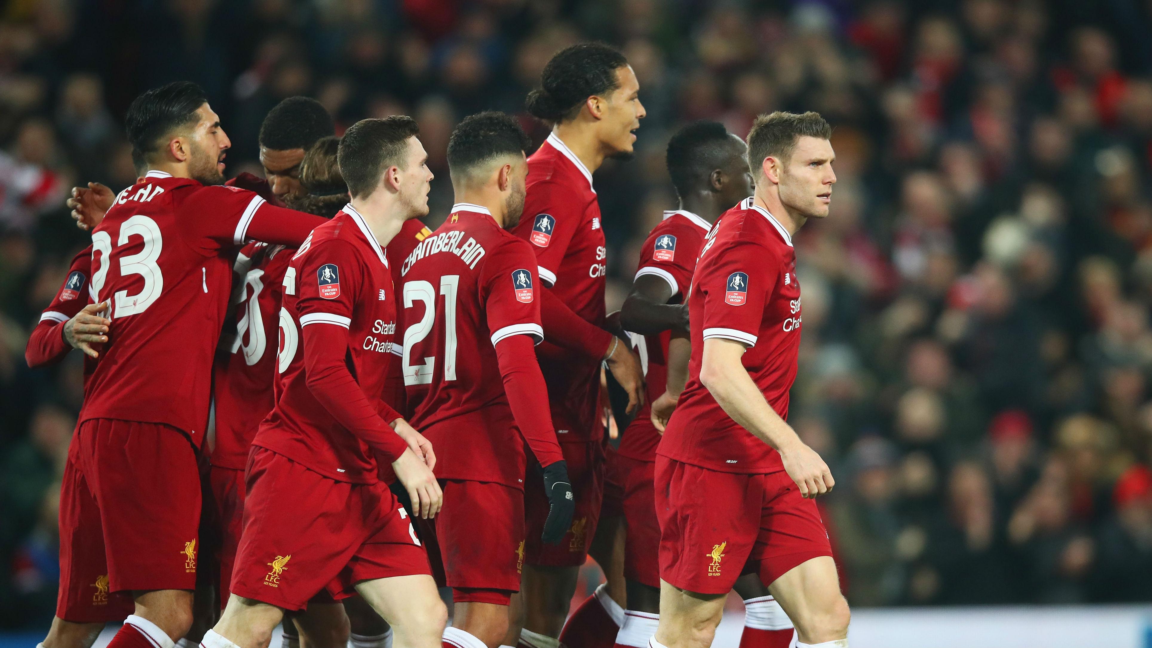 James Milner Liverpool Everton