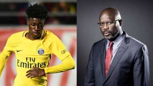 Timothy e George Weah