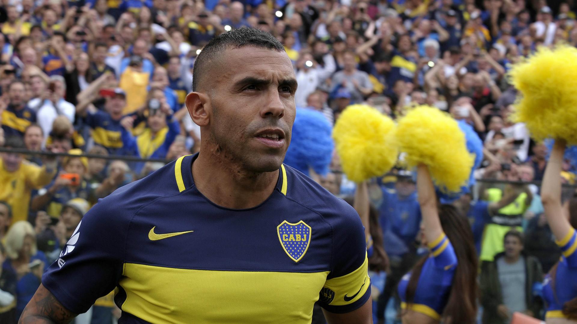 Carlos Tevez Boca Juniors Argentine Primera División