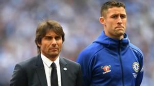 Antonio Conte Gary Cahill Chelsea