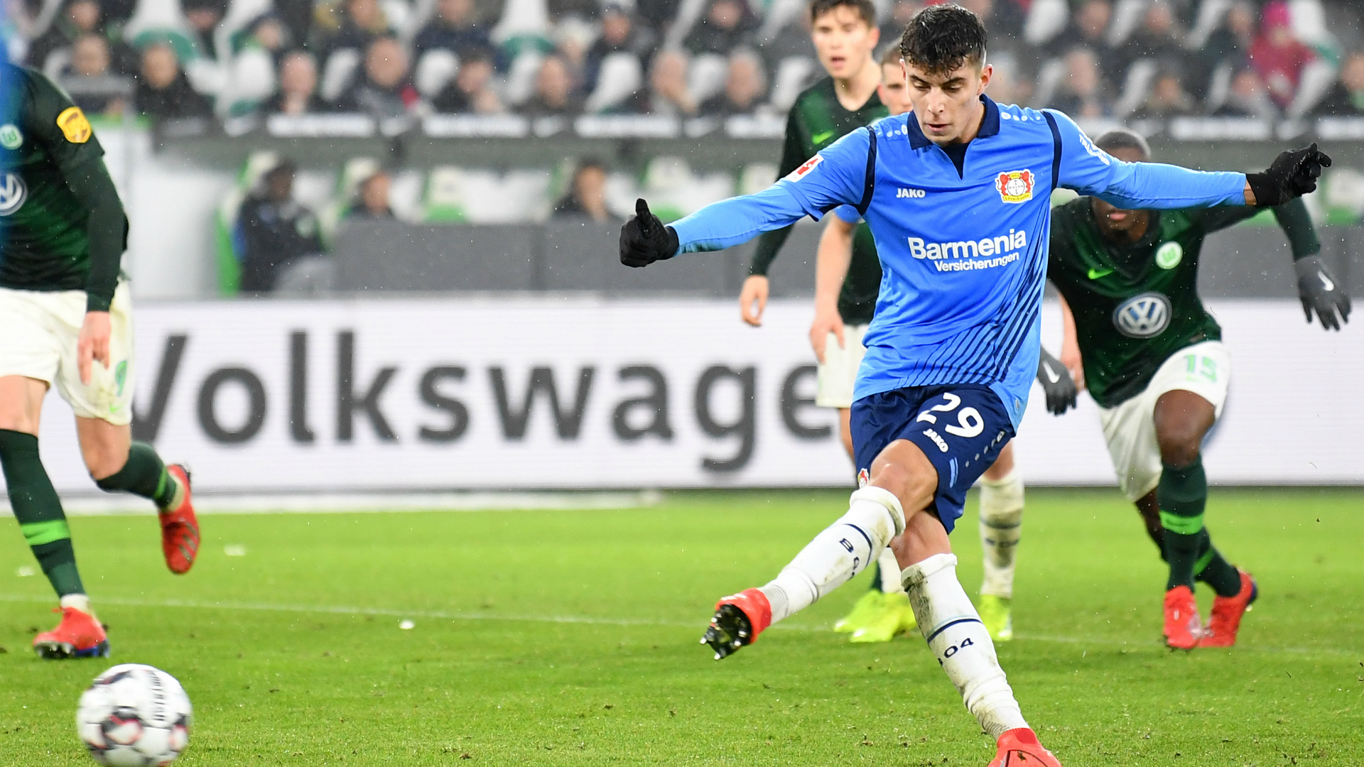 Kai Havertz Bayer Leverkusen 01262019