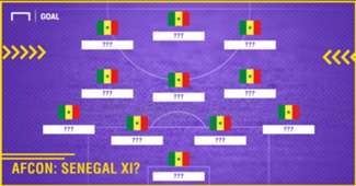 Predicted Senegal XI