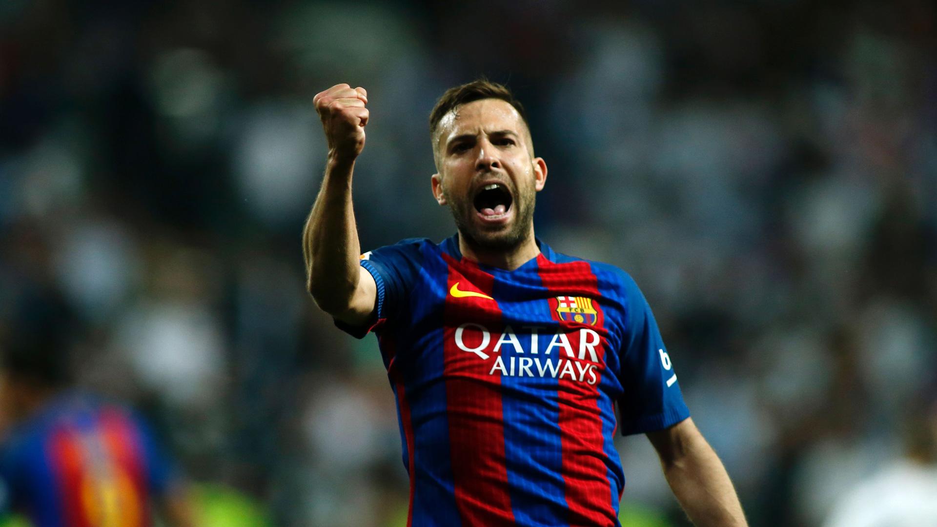 Seconda Maglia FC Barcelona Jordi Alba