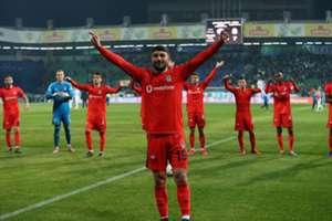 Guven Yalcin Caykur Rizespor Besiktas Turkish Super League 04/08/19