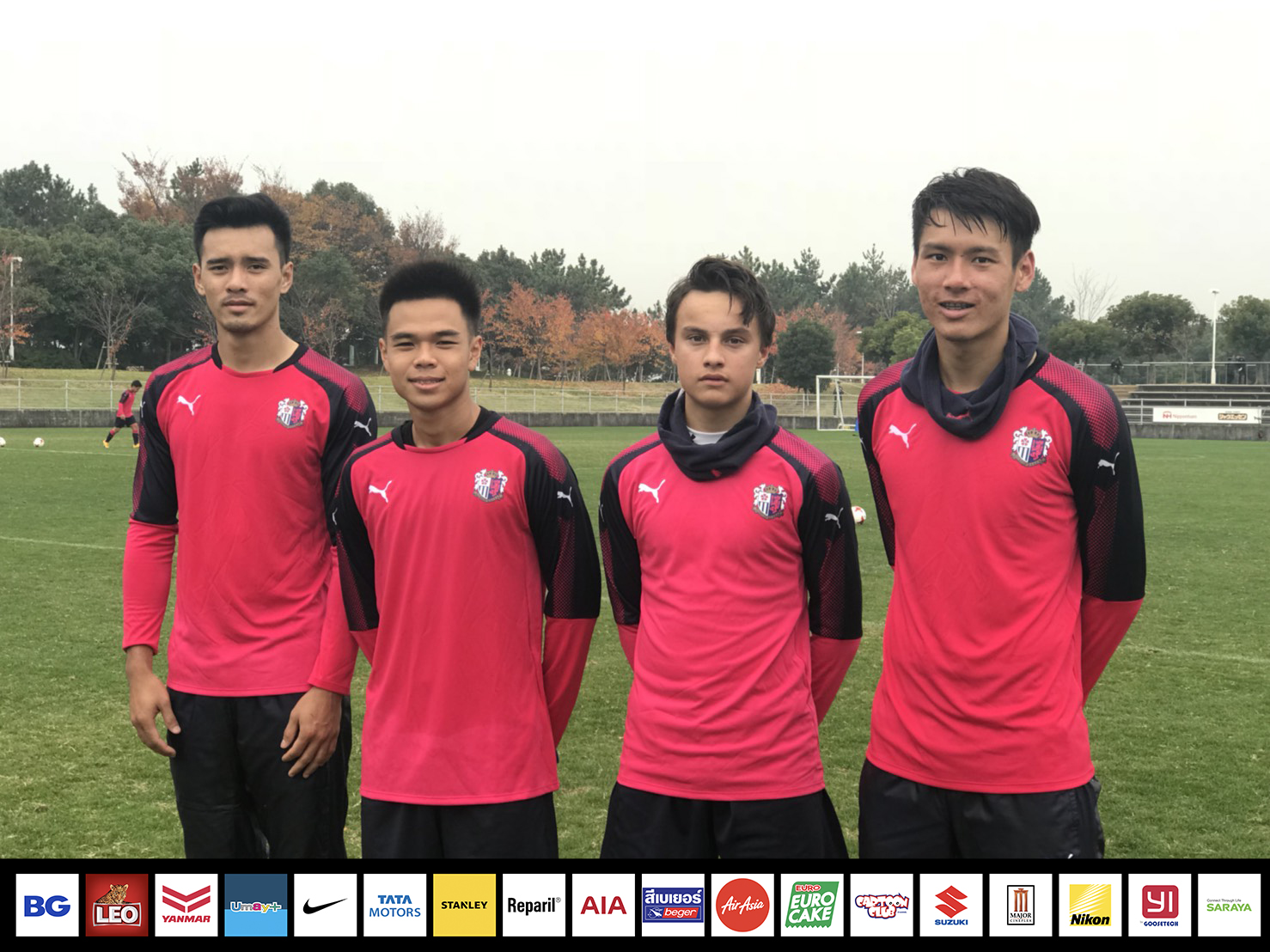 Bangkok Glass FC in Cerezo Osaka