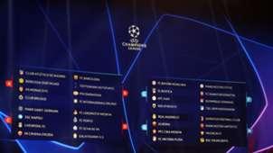 Champions League draw 30082018