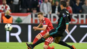 Kimmich Bayern Real Champions League
