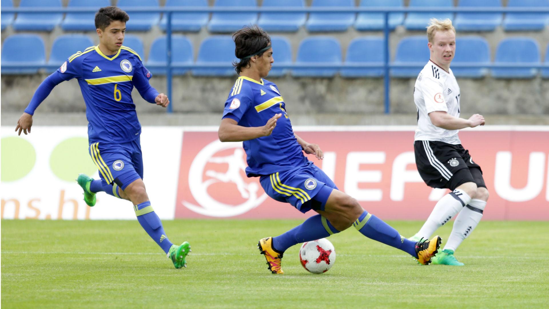 Bosnia U17 Jusuf Gazibegovic Rijad Sadiku