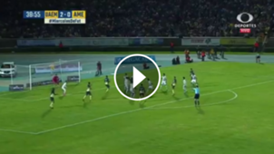 Gol Pablo Aguilar vs Potros UAEM