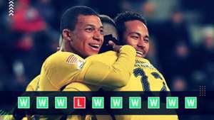 PSG Champions League Power Ranking GFX
