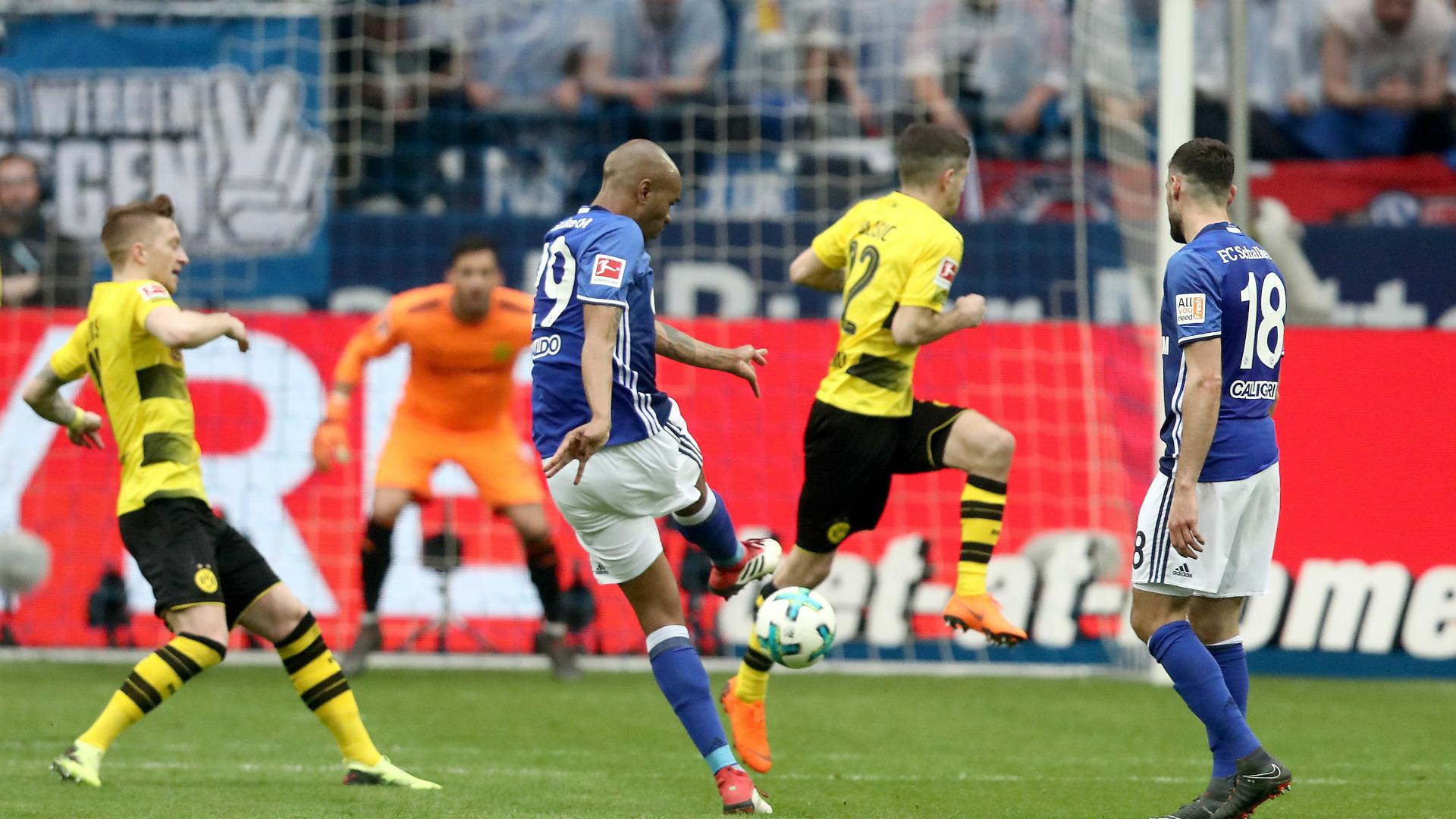 Naldo FC Schalke 04 Borussia Dortmund 15042018