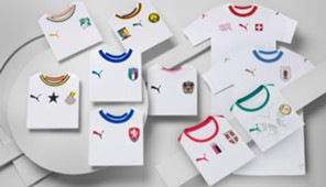 PUMA International Away Kits 2018