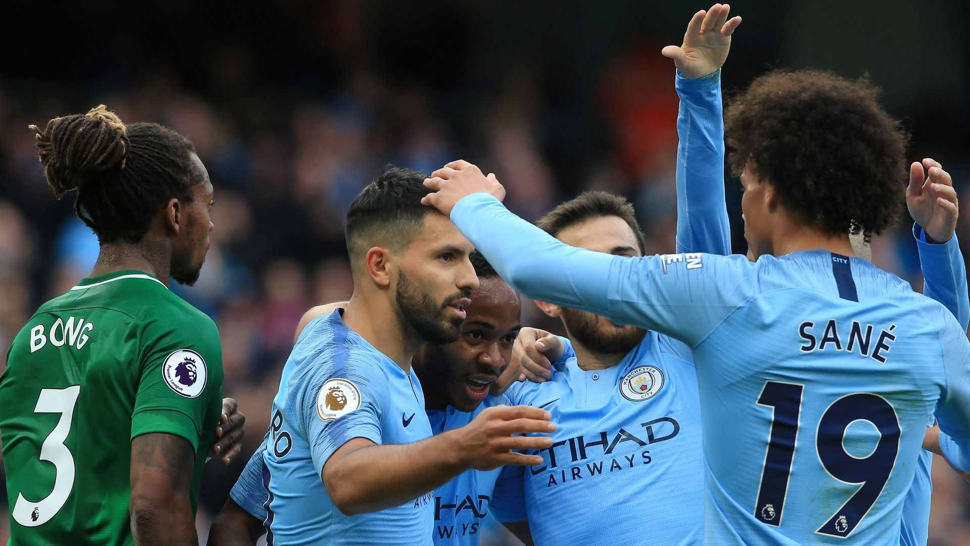 Manchester City Brighton EPL 09292018