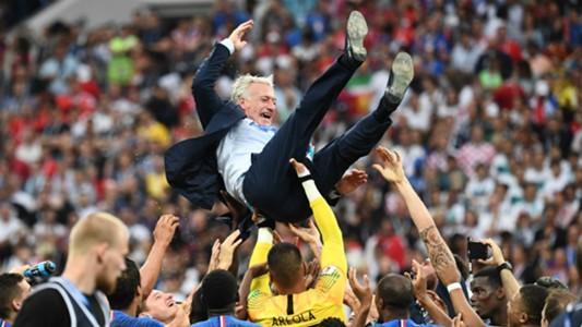Didier Deschamps France WC Final 2018