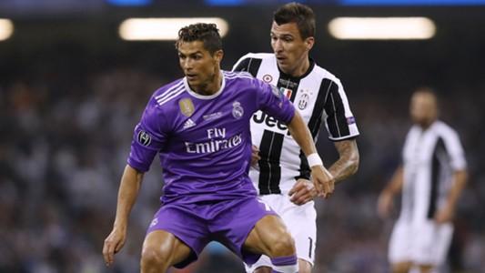 Cristiano Ronaldo Mandzukic Juventus Real Madrid