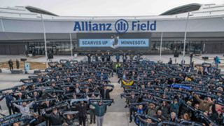 Allianz Field Scarves Supporters 04122019