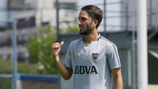 Sebastian Perez Boca Entrenamiento