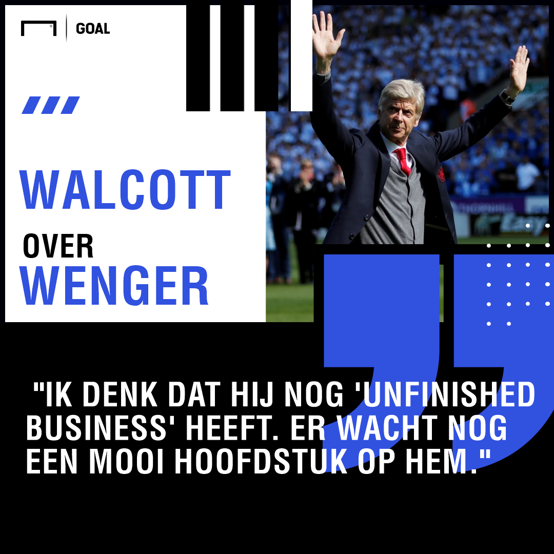 Walcott on Wenger Quotes dutch