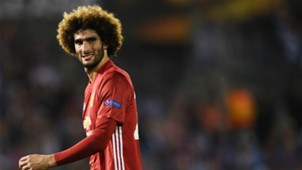 Marouane Fellaini Celta Manchester United Europa League