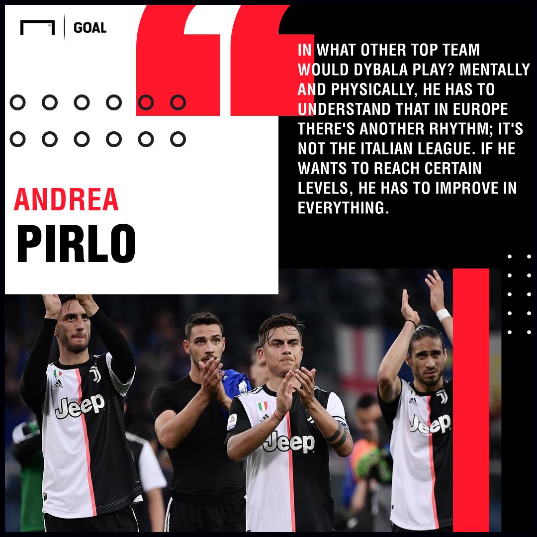 Paulo Dybala Andrea Pirlo Juventus PS